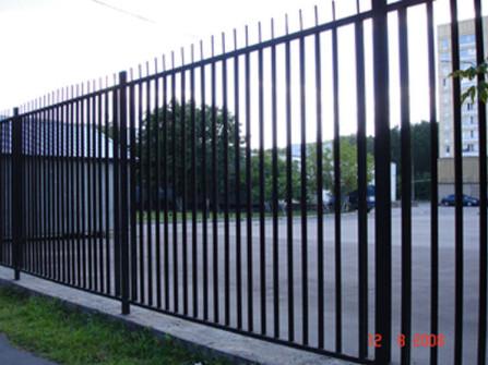 забор металлический штакетник ( эконом)