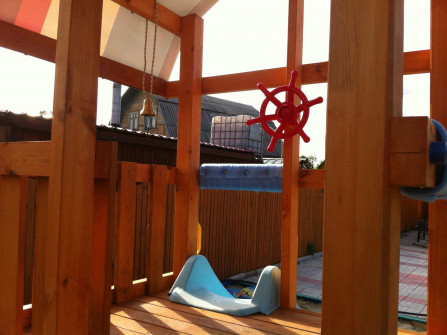 детские домики площадки городки