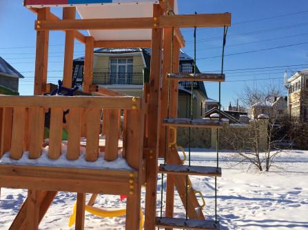 детские площадки для загородного дома