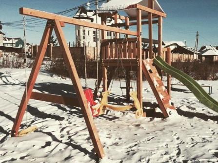 Ремонт детских городков комплексов площадок